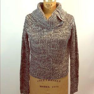 Skaist Taylor Black White Knit Sweater Medium M